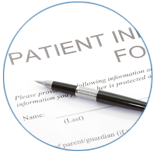 Photo of patient form by WEO Media Dental Marketing Agency